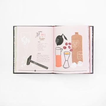 vormgeving, vormgevingsbureau, artdirection, opmaak, boek, drankjes, recepten, uitgeverij snor, boekcover, boekomslag, merk, branding, design, designstudio, merkontwikkeling, likeur en limonade