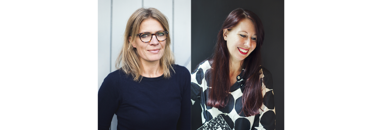 Frederike & Annelinde - founders studio 100%, grafische vormgeving