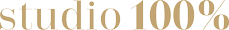 Studio100% - Logo
