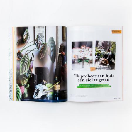 cover, design, ontwerp, artdirection, art direction, vormgeving, opmaak, boek, ontwerpbureau, designstudio, design, Flow Magazine, illustraties, Studio 100%, Studio 100 procent, binnenwerk, spread
