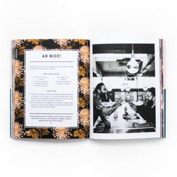 Artdirection, vormgeving, opmaak, boekomslag, cover, design, designstudio, holy kauw company, snor, layouts, vormgevingsbureau, kookboek, branding, merk, concept, recepten, limonade, merkontwikkeling, fotografie, alcoholvrije drankjes