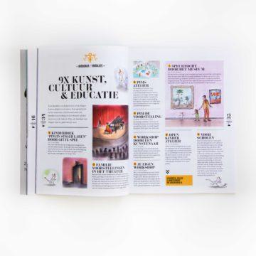 Singer Laren, programmaboekje, vormgeving, artdirection, layout, Gooi, theater, museum, magazine, designstudio, vormgevingsbureau, TamTam