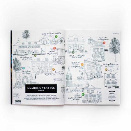 TamTam, Magazine, Naarden Vesting, het Gooi, artdirection, vormgeving, opmaak, layout, designstudio, hotspots, illustrations, vormgevingsbureau, design, brand, merk