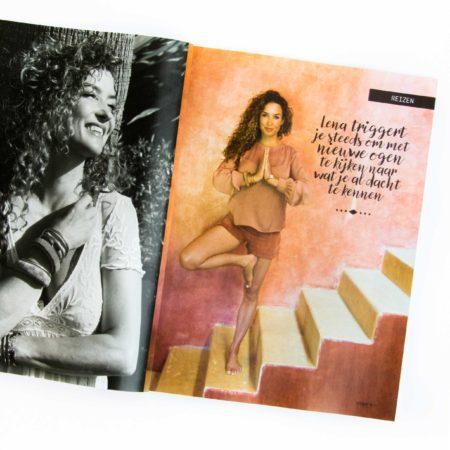 vormgeving, tijdschrift, magazine, artdirection, merk, merkontwikkeling, cover, opmaak, yoga, design, designstudio, vormgevingsbureau, katja schuurman, omslag